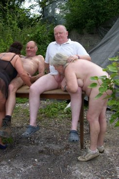 PICTURE SET: Outdoor Fun With 72yr Old April and Buddies