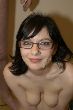 PICTURE SET: Cum Onto My Glasses