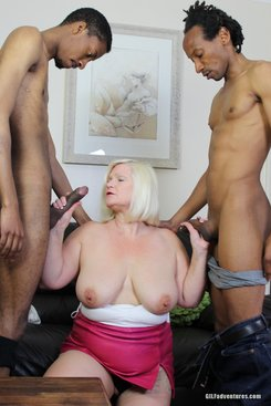 PICTURE SET: Granny gets double teamed