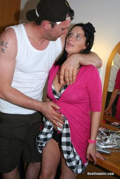 PICTURE SET: Vicky and Tommy