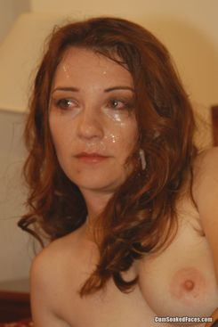 Redhead Raven gots soaked at private blowbang