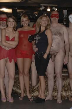 Amature group orgy