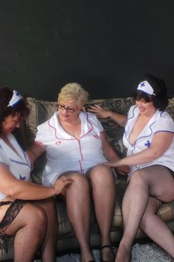 PICTURE SET: trio of busty and mature nurses