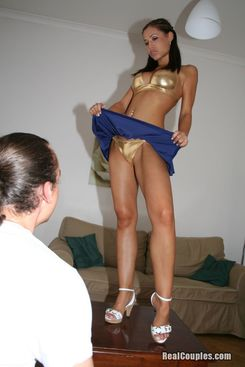 PICTURE SET: Satin Bloom and her partner