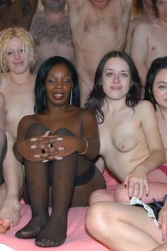 PICTURE SET: Big Multi Girl Cum Orgy - Part 2