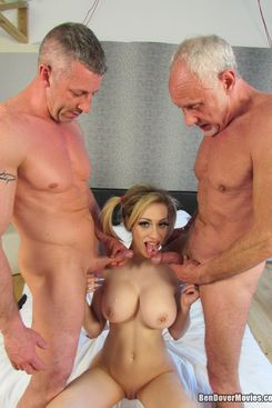 PICTURE SET: Two cocks for Chessie Kay