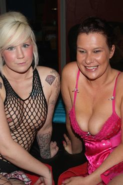 PICTURE SET: Mandy Cinn and taylor working at the sex club
