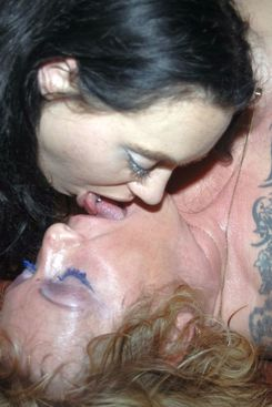 PICTURE SET: The Bride and Bridesmaid gangbang party