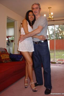 PICTURE SET: Boning and ass fucking his Thai bride