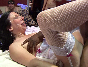 Eva & Isabel's Gangbang Orgy #1