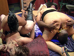 Tina and Courtney Orgy #2
