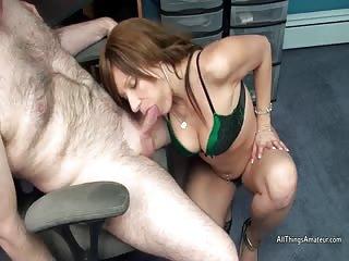 Brandi Minx sucking cock