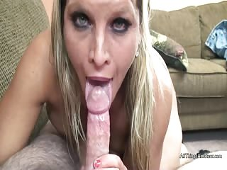 Cock sucking older blonde porn casting