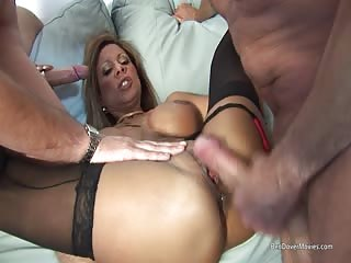 Yummy Mummy Debbie Dial threesome with Ben Dover