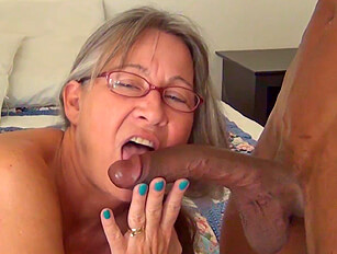 Leilani Lei sucking big black cock