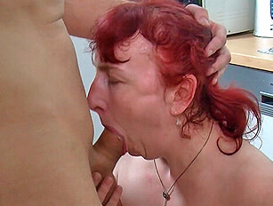 Two matures with a younger guy