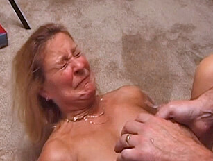 Shocked by a savage facial cumshot