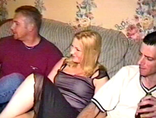 19yr Old Clair's Gangbang Party part 1
