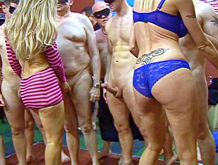 A big gangbang with Jenna Cruz and Emma Starr