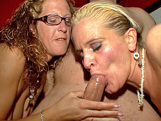 Dumping a load in two mature mouths