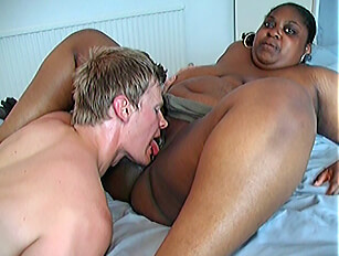 Young white guy eager to try a mature black BBW