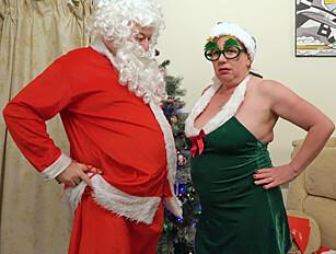 The naughty mature Elf