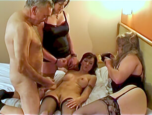 Married couple with 2 cross dressers